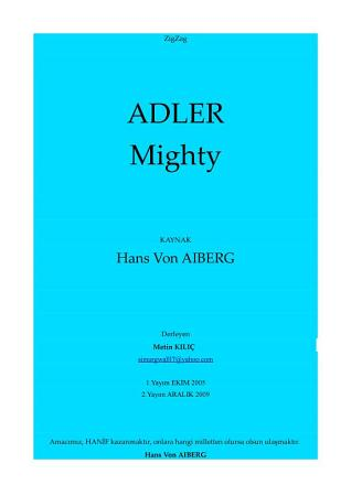 ZigZag Adler Mighty PDF
