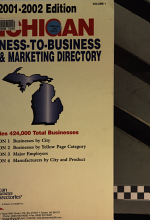 Michigan Business-to-business Sales & Marketing Directory: Businesses by city