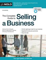 The Complete Guide to Selling a Business PDF