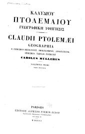Klaudiou Ptolemaiou Geographike hyphegesis: Volume 2