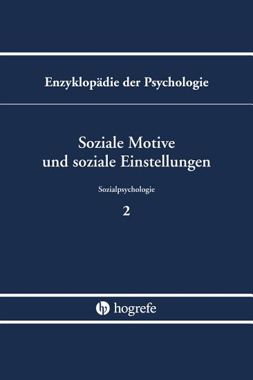 Soziale Motive und soziale Einstellungen PDF