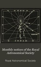 Monthly Notices of the Royal Astronomical Society: Volume 43; Volumes 1882-1883