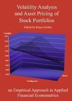 Volatility Analysis and Asset Pricing of Stock Portfolios PDF