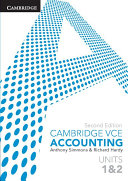 Cambridge VCE Accounting Units 1 and 2