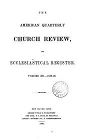 the american quaterly church review