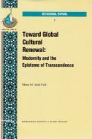 Toward Global Cultural Renewal PDF