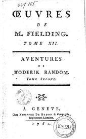 Oeuvres de M. Fielding. Tome premier [-quinzieme]: Aventures de Roderik Random. Tome second. 12