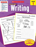 Scholastic Success With Writing, Grade 1