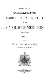 Annual Report: Volumes 15-16