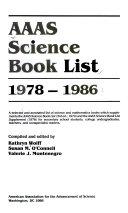 AAAS Science Book List, 1978-1986