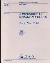 Compendium of Budget Accounts, 2000