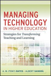 Managing Technology In Higher Education Book PDF