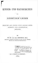 Kinder- und hausmärchen der gebrüder Grimm