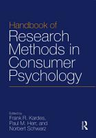 Handbook of Research Methods in Consumer Psychology PDF