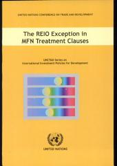 The REIO Exception in MFN Treatment Clauses