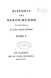 Historia del Nuevo-mundo: Volumen 1
