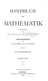 Handbuch der mathematik: Band 2