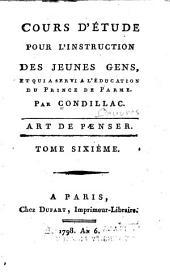 Oeuvres: Dissertation sur la libeté. Extrait des Sensations. Traité des animaux