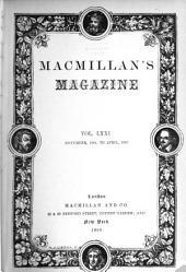 MacMillan's Magazine: Volume 71