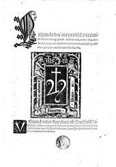 Legenda aurea (sanctorum, que Lombardica hystoria nominatur.)