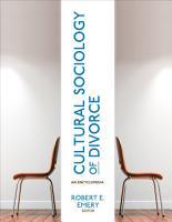 Cultural Sociology of Divorce PDF