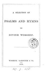 A selection of Psalms and hymns for divine worship PDF