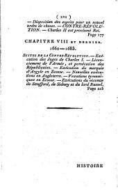 Histoire de la révolution et de la contre-révolution d'Angleterre