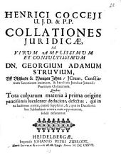Collationes iuridicae