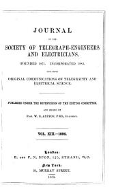 Proceedings of the Institution of Electrical Engineers: Volume 13