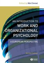 An Introduction to Work and Organizational Psychology