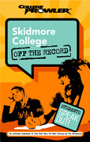 Skidmore College College Prowler Off The Record