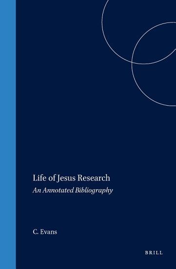 Life of Jesus Research PDF