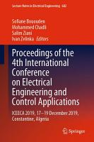 Proceedings of the 4th International Conference on Electrical Engineering and Control Applications PDF