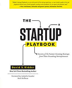 The Startup Playbook Book