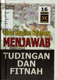 PK Sejahtera menjawab tudingan dan fitnah PDF