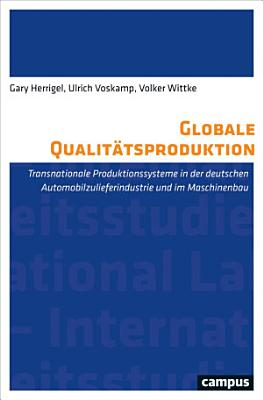 Globale Qualit  tsproduktion PDF