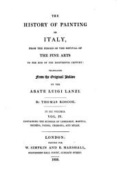 The schools of Lombardy, Mantua, Modena, Parma, Cremona, and Milan