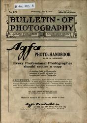 Bulletin of Photography PDF