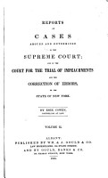 Reports of Cases Argued and Determined in the Supreme Court PDF