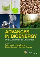 Advances in Bioenergy PDF