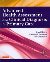 Advanced Health Assessment   Clinical Diagnosis in Primary Care4 PDF