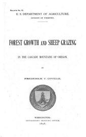 Forest Growth and Sheep Grazing in the Cascade Mountains of Oregon
