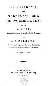 Geschiedenis der Nederlandsche hervormde kerk: Volume 2