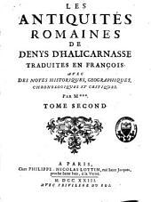 Les antiquités romaines: Volume2