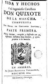 Vida y hechos del ingenioso cavallero don Quixote de la Mancha: Volumen 2