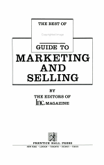 The Best of Inc. Guide to Marketing and Selling