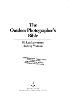 The Outdoor Photographer s Bible PDF