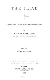 The Iliad: Volume 2