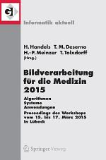 Bildverarbeitung für die Medizin 2015