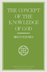 Concept Of The Knowledge Of God